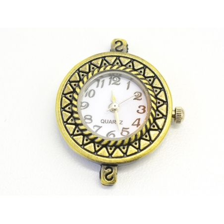 Acheter Cadran de montre 2,9 cm - bronze - 10,99€ en ligne sur La Petite Epicerie - Loisirs créatifs