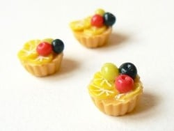Tarte aux fruits / cupcake  - 1