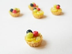Tarte aux fruits / cupcake
