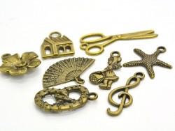 Acheter 1 Breloque étoile de mer - couleur bronze - 0,19€ en ligne sur La Petite Epicerie - 100% Loisirs créatifs