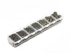 Acheter Boite de 7 tailles d'anneaux couleur bronze - 8,00€ en ligne sur La Petite Epicerie - 100% Loisirs créatifs