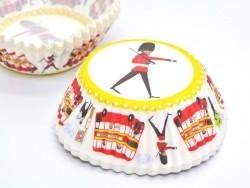 60 cupcake cases (6 cm) - London