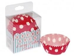 72 Caissettes à cupcakes 6 cm - pois rouges