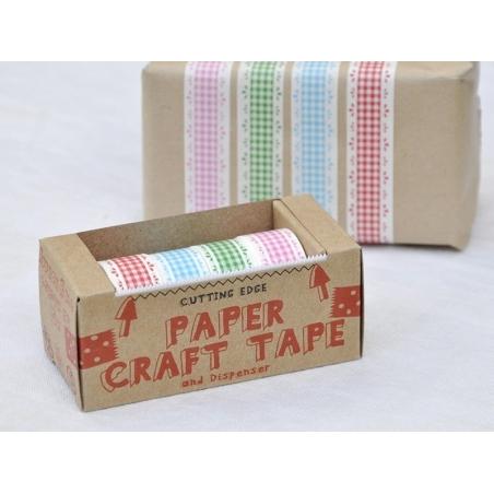 Dévidoir 4 Masking tape - motif vichy vintage Masking Tape - 2