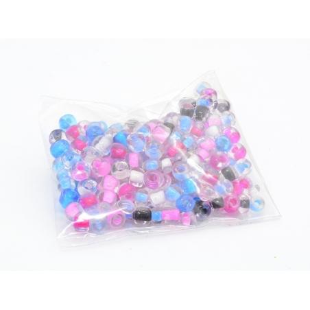 Acheter 200 perles de rocailles 4 mm - couleurs estivales - 0,69€ en ligne sur La Petite Epicerie - Loisirs créatifs