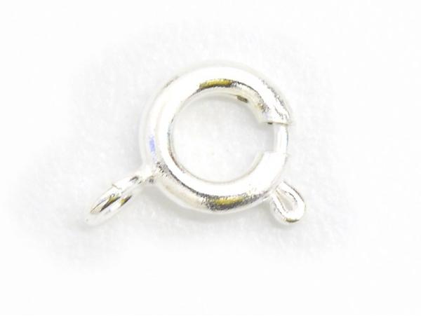 Acheter 10 fermoirs ressorts 6 mm - couleur argenté clair - 2,39€ en ligne sur La Petite Epicerie - Loisirs créatifs