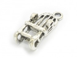 1 rocking chair charm - dark silver