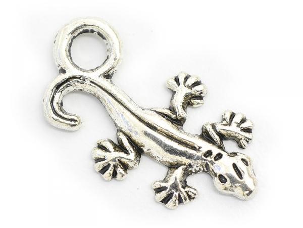 Acheter 1 breloque salamandre - argenté foncé - 0,19€ en ligne sur La Petite Epicerie - Loisirs créatifs
