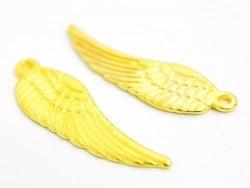 1 Breloque aile - dorée
