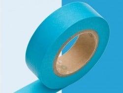 Masking tape uni - Bleu piscine