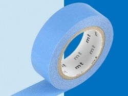 Masking tape uni - Bleu ciel Masking Tape - 3