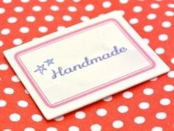 Etiquette thermocollante / adhésive - Etoiles handmade