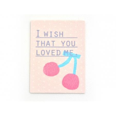 Iron-on patch / sticker - Cherries