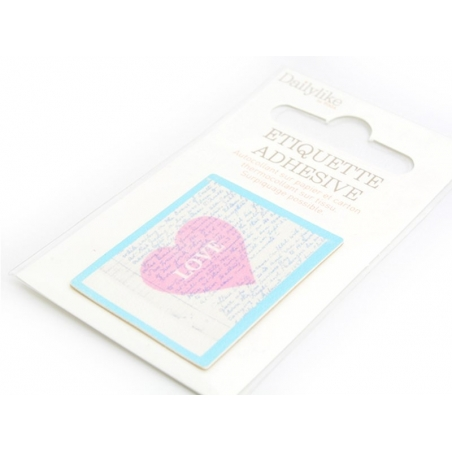 Iron-on patch / sticker - Heart / Love