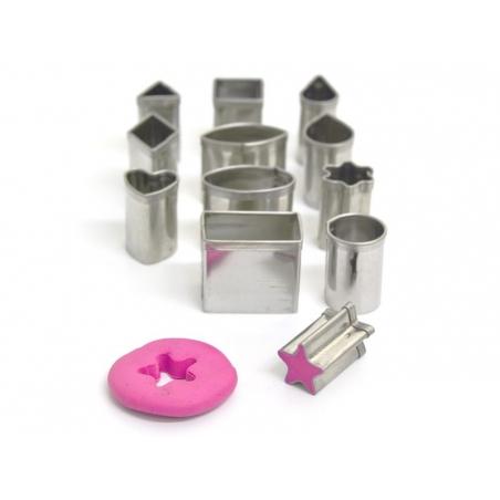 Acheter 12 mini emporte-pièces - géométriques - 6,95€ en ligne sur La Petite Epicerie - Loisirs créatifs