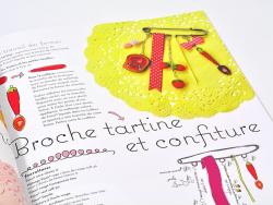 """French book """" Les bijoux de Missbonbon en pâte polymère"""""""