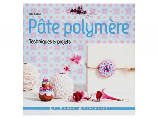 Livre Pâte Polymère, techniques et projets