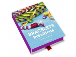 Coffret livre à tiroir - kit bracelets brésiliens