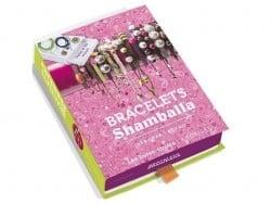 Coffret livre à tiroir - bracelets Shamballa