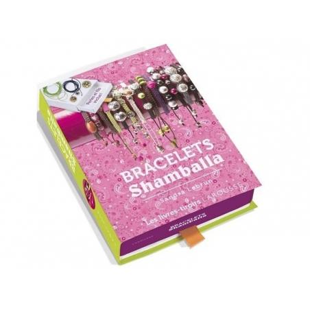 Coffret livre à tiroir - bracelets Shamballa Larousse - 1