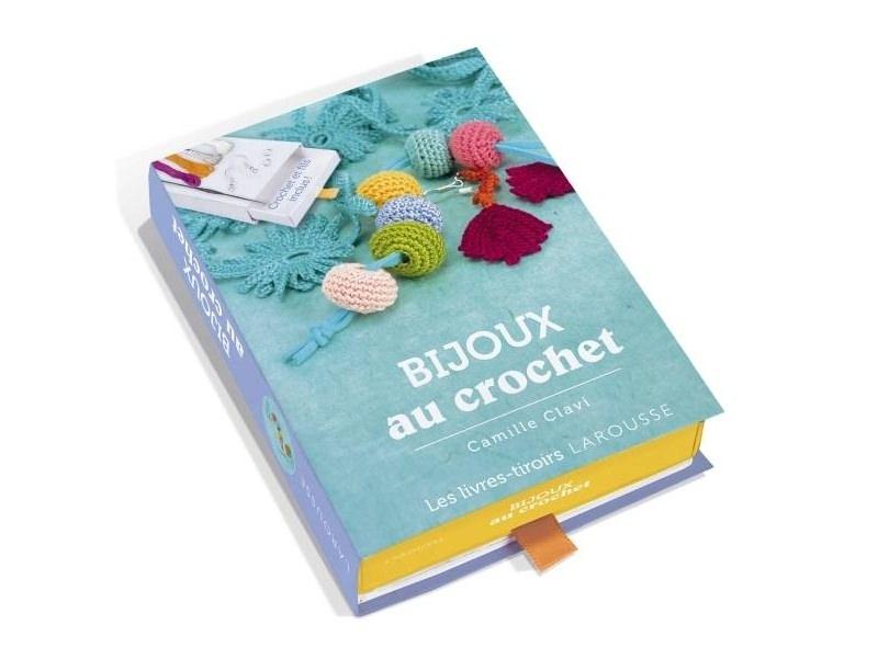 Acheter Coffret livre à tiroir - bijoux au crochet - 3,50€ en ligne sur La Petite Epicerie - Loisirs créatifs