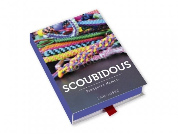 Coffret livre à tiroir - Scoubidous Larousse - 1