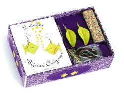"""Origami-Set """"L'atelier bijoux en origami"""" - mit Buch (in Französisch)"""