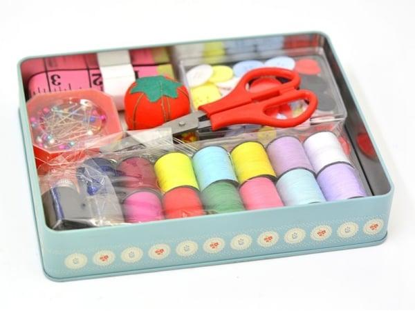 12 boutons pression 5 mm couleur argent la petite picerie for Boite a couture a decorer
