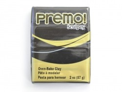 PREMO!-Modelliermasse Sculpey - Schwarz