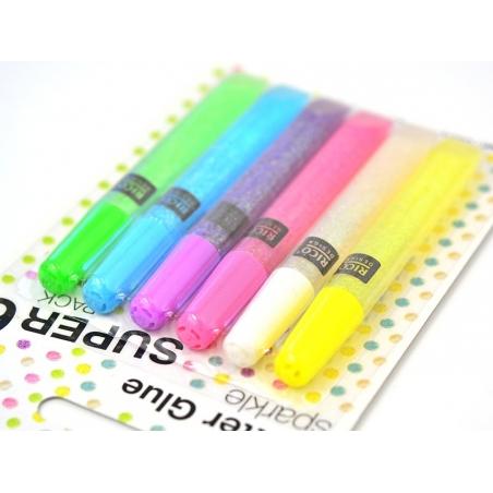 Acheter Lot de 6 stylos colle paillettes - glitter glue - couleurs pop - 4,90€ en ligne sur La Petite Epicerie - 100% Loisir...