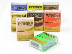 PREMO! Clay Sculpey - Cadmium Yellow Hue