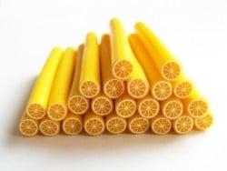 Acheter Cane citron - en pâte polymère - 0,99€ en ligne sur La Petite Epicerie - Loisirs créatifs