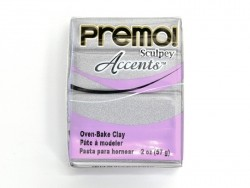 PREMO!-Modelliermasse Accents - Silber