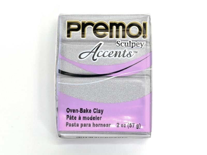 PREMO! Clay Accents - Silver