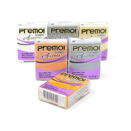 Acheter Pâte PREMO! Accents - Blanc translucide - 2,29€ en ligne sur La Petite Epicerie - Loisirs créatifs