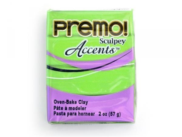 Acheter Pâte PREMO! Accents - Perle vert brillant - 2,29€ en ligne sur La Petite Epicerie - 100% Loisirs créatifs