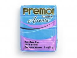 Pâte PREMO! Accents - Translucide bleu