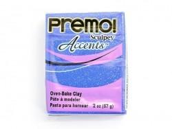 PREMO!-Modelliermasse Accents - Blau mit Glitzer