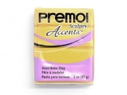 Pâte PREMO! Accents - Or 18 c