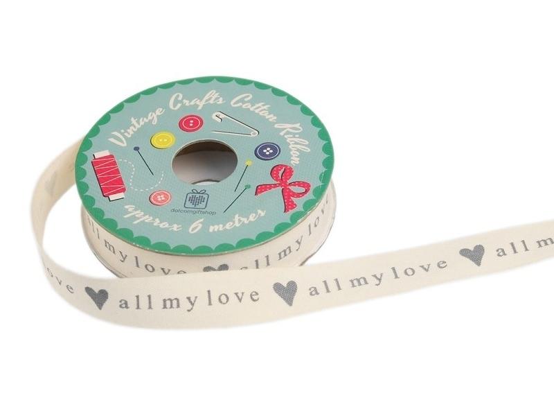 6 m de ruban All my love Dotcomgiftshop - 1