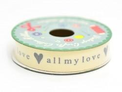 6 m de ruban All my love