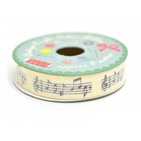 6 m de ruban musique Dotcomgiftshop - 2
