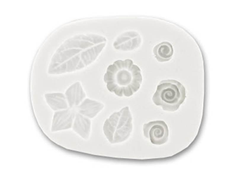 Acheter Moule roses et feuilles en silicone WePAM - 5,90€ en ligne sur La Petite Epicerie - Loisirs créatifs