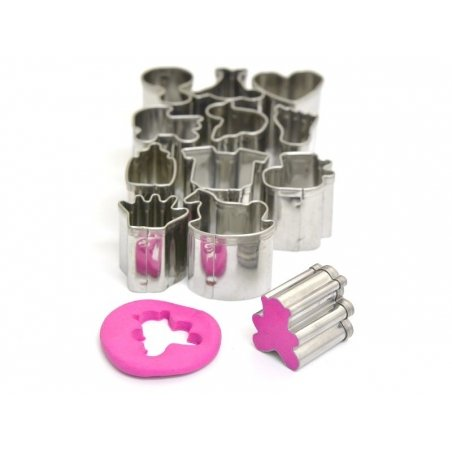 12 mini biscuit cutters - Baby