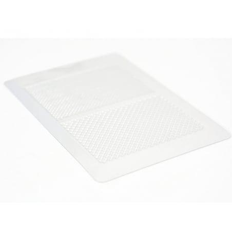 Plaque de texture Gaufre