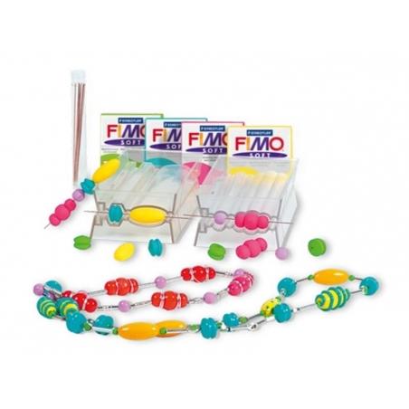 Machine à former des perles carrées
