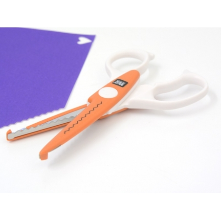 Contour scissors - Zig-zag pattern