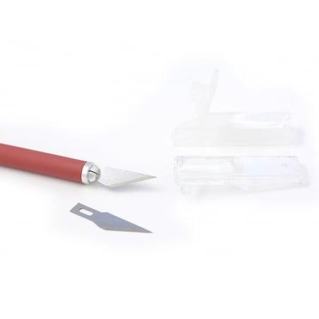 Acheter Cutter scalpel + lame de rechange - 3,65€ en ligne sur La Petite Epicerie - 100% Loisirs créatifs