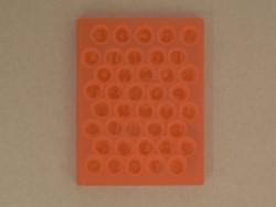 Besonders biegsame Form - Buchstaben und Zahlen