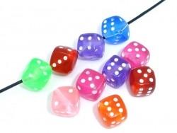 20 dice beads